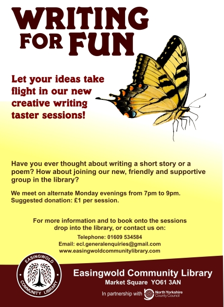 ECL Writing for Fun Poster A4