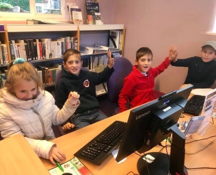 "Coding Club goes ""Bleep!"""