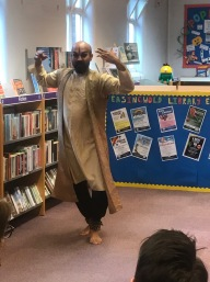 Indian dancing comes to the library